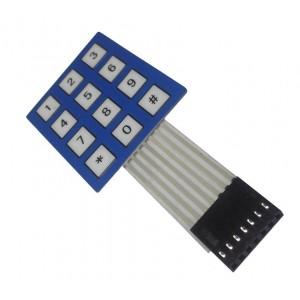 Мембранная цифровая клавиатура 3х4