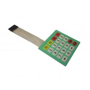 Мембранная цифровая клавиатура 4х5