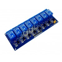 Модуль релейный 8х12 вольт