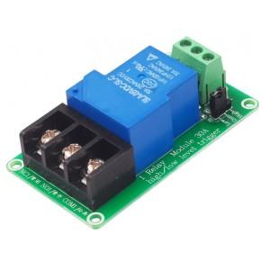 Релейный модуль 1х12 вольт 30А