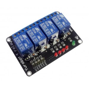 Релейный модуль 4х5 вольт