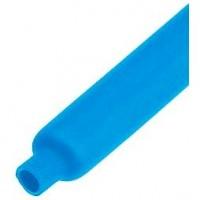 Термоусадка ф12х6 синяя метражом 1 м
