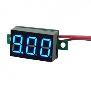 Вольтметр цифровой zc21400 синий
