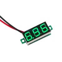 Вольтметр 5-30В цифровой зеленый