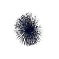 Ёршик стальной плотный ворс ф 300-0.6-M12 Чехия
