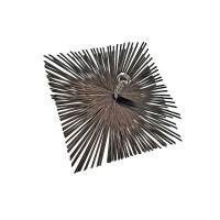 Щетка квадратная стальная 200х200-3.0х0.4-М12 Италия