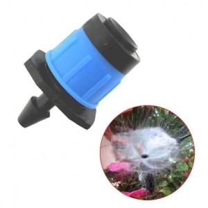 Форсунка для капельного полива регулируемая синяя 90 литра в час