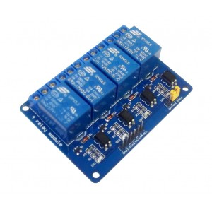 Релейный модуль 4х12 вольт