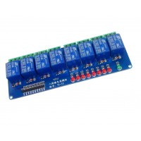 Модуль релейный 8х5 вольт